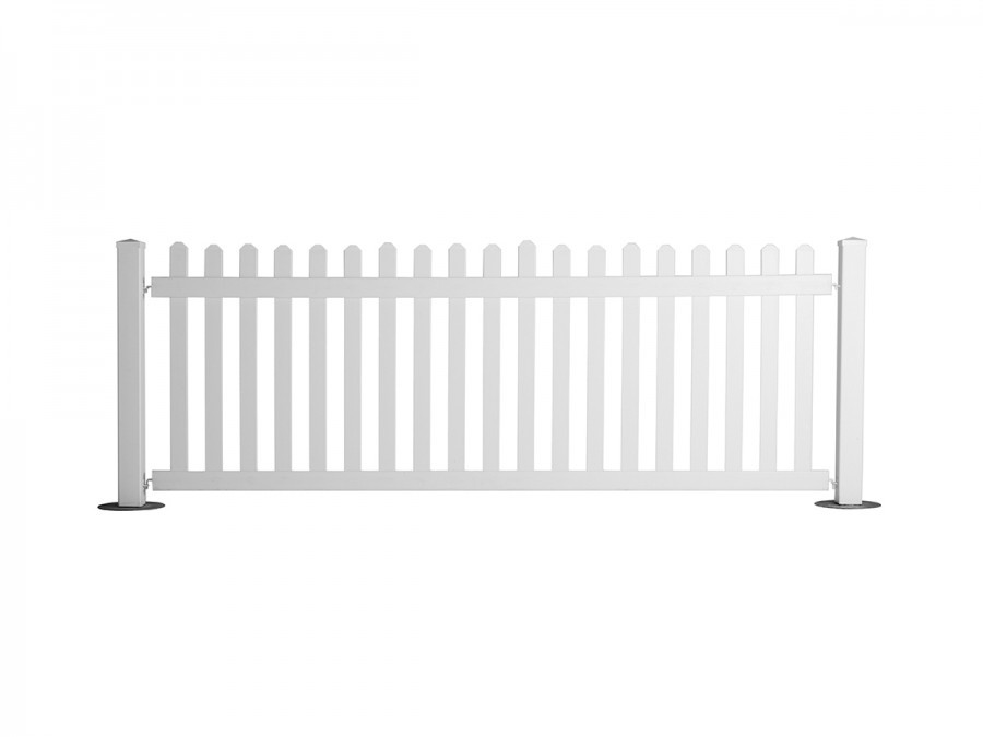 white picket fence. Picket Fencing White Fence