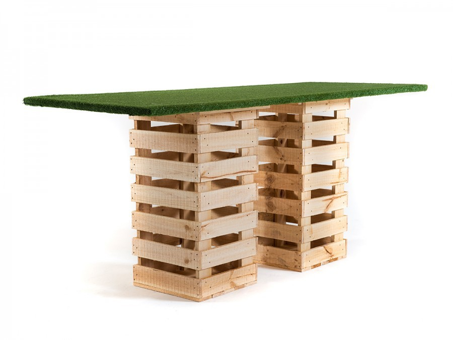 Pallet Grass High Table
