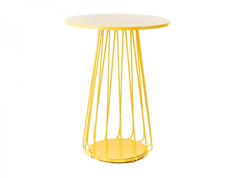 Wire cocktail table hire yellow keyboard keysfo Image collections