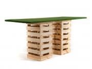 Pallet Grass High Table