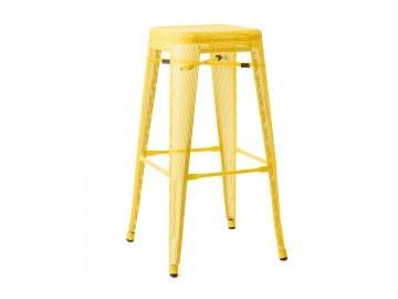 mesh tolix high stool hire
