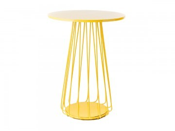 Wire cocktail table hire wire high bar yellow keyboard keysfo Choice Image