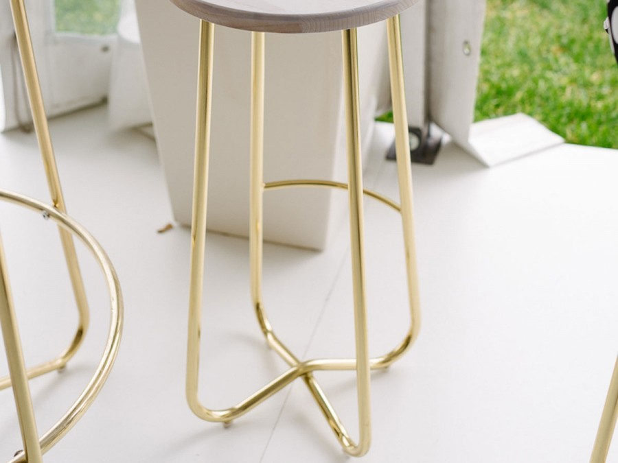 the gold stool harper stool party hire modern party hire adelaide
