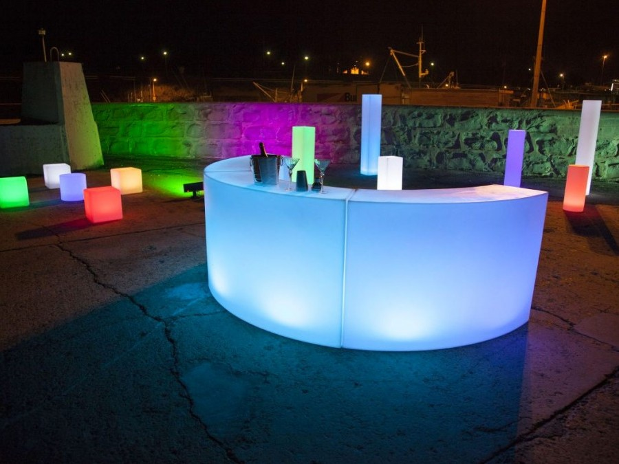 Illuminated Led Bar Hire Adelaide
